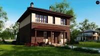 Проект дома Zx24 а pk