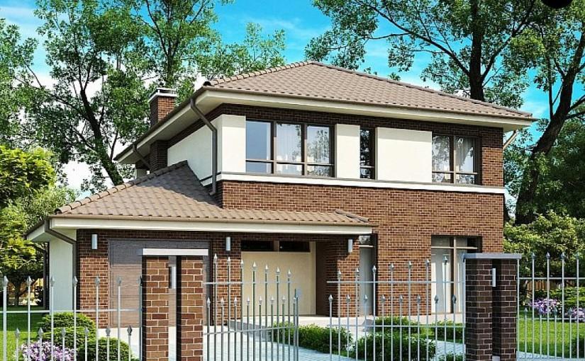 Проект дома zx24 pk