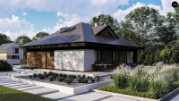 Проект дома Zz230 + Фото 1