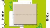Минимальные размеры участка для проекта Z462
