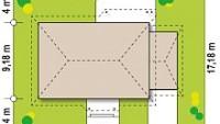 Минимальные размеры участка для проекта Z69 GP