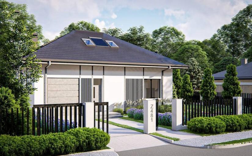 Проект дома Z481