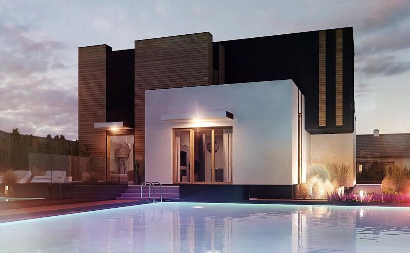 Проект дома Zx120 v2