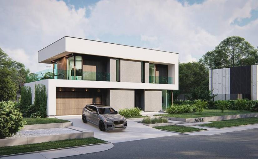 Проект дома Zx214