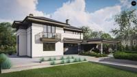 Проект комфортного дома Zz13