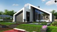 Проект дома Zx201 + Фото 1
