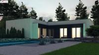 Проект одноэтажного дома Zx160
