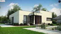 Проект одноэтажного дома Zx138