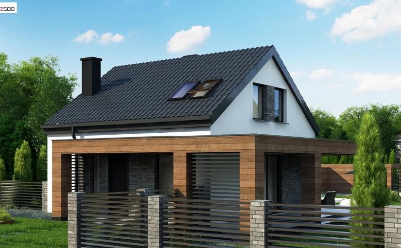Проект дома Z385