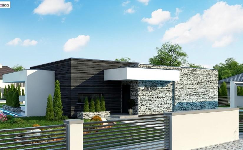 Проект дома Zx153