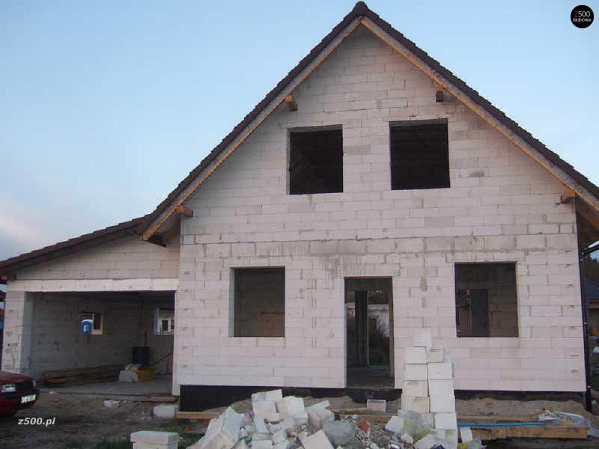 Дом 8 на 10 из пеноблоков