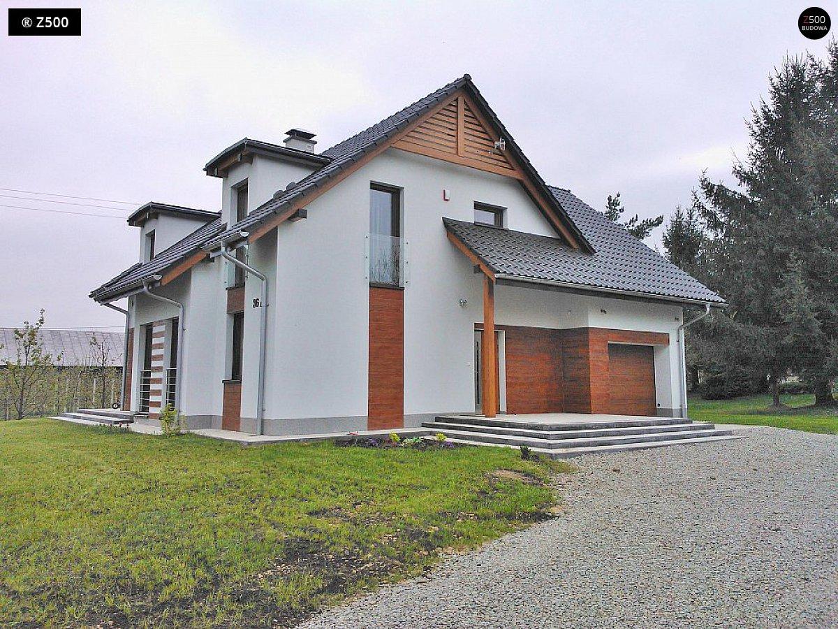 Дом с мансардой, навесом для авто и террасой Rg5077 Общая